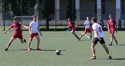 В Абинске стартовал Всекубанский турнир по футболу среди детских дворовых команд