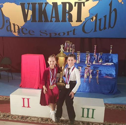 В Абинске прошел открытый турнир по танцевальному спорту