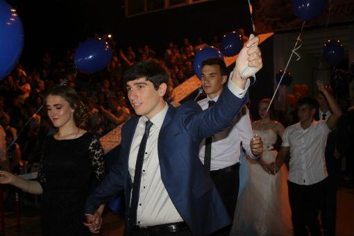 В Абинском районе прошли выпускные вечера