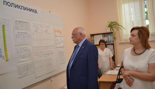 В Славянском районе депутаты ЗСК обсудили вопросы состояния здоровья населения