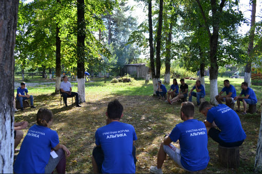 Глава Абинского городского поселения встретился с участниками молодежного форума «Альпика»