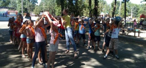 Около 90 юных ахтырчан участвовало в спортивной эстафете «Жемчужина здоровья»