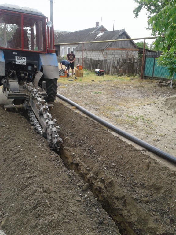 Обновление системы водоснабжения в хуторах Ольгинского сельского поселения проводится поэтапно