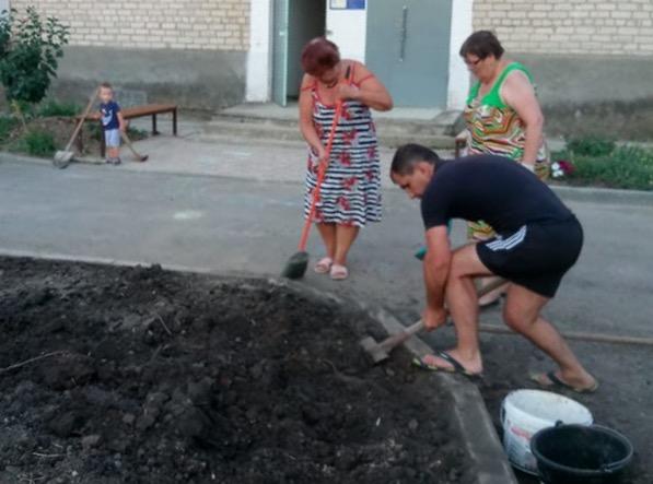 Ахтырчане провели субботник