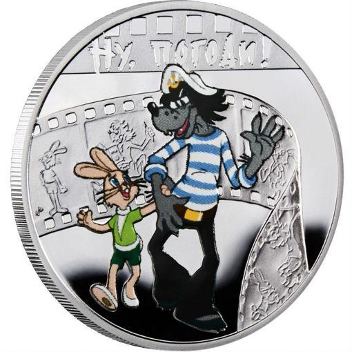 Центробанк выпустил памятные монеты «Ну, погоди!»