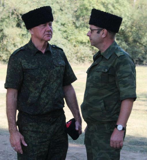 Абинский район вновь стал площадкой для проведения казачьих военно-полевых сборов Таманской казачьей дивизии