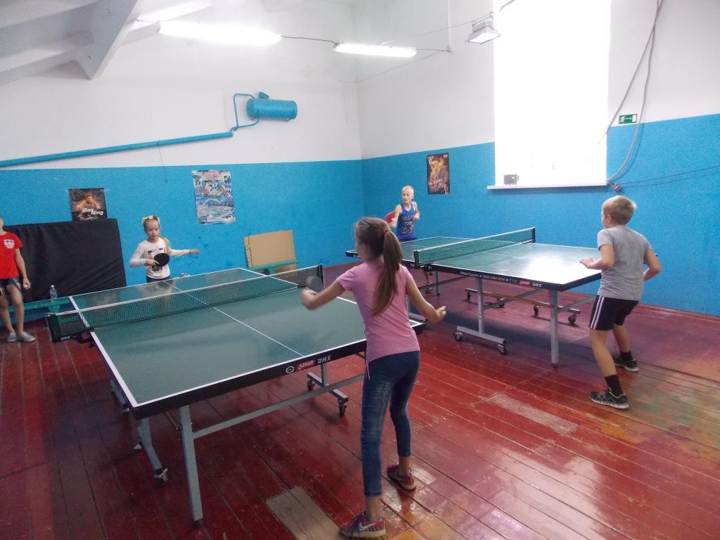 В Абинске прошло первенство района по настольному теннису