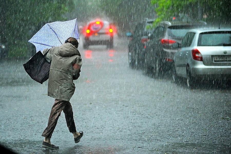 В выходные будет дождливая погода
