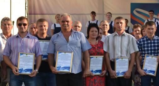 В поселке Ахтырском отметили День работников нефтяной и газовой промышленности