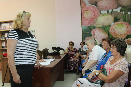В Абинском местном отделении общества слепых прошел зональный этап краевого конкурса «Живое слово»