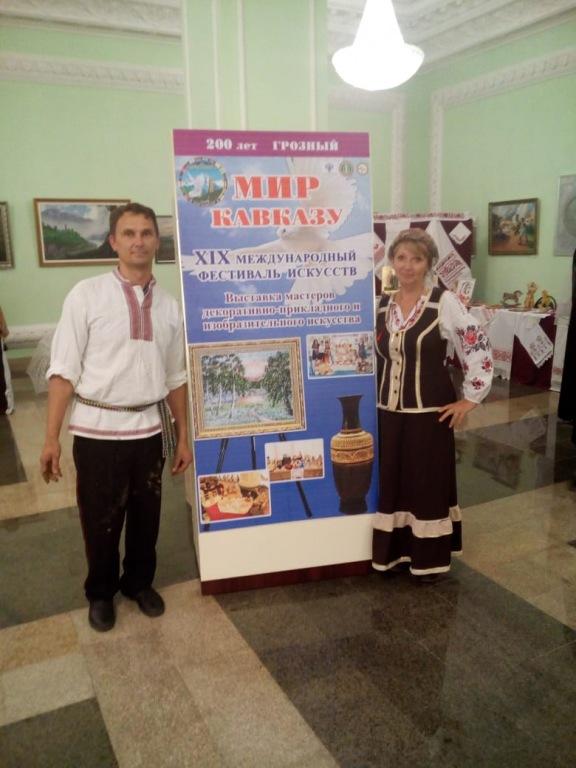 Холмские мастера представили свое творчество в Грозном