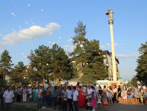 Абинчане приняли участие в акции «Вместе против террора»