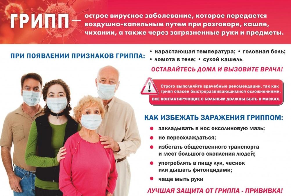 На последнем аппаратном совещании при главе района обсудили тему профилактики гриппа