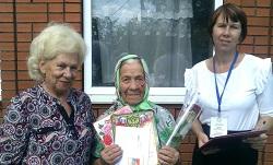 В Абинске поздравили 90-летних юбиляров