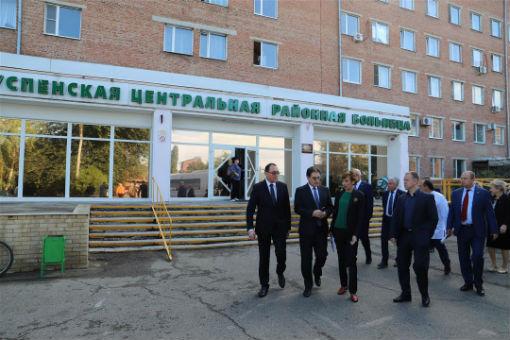 Депутаты ЗСК провели выездное совещание в Успенском районе