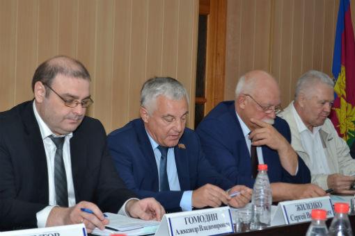 Кубанские парламентарии оценили потенциал Новокубанского района