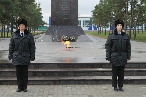 Школьники Абинского заступили в почетный караул у мемориалов и памятников Великой Отечественной войны