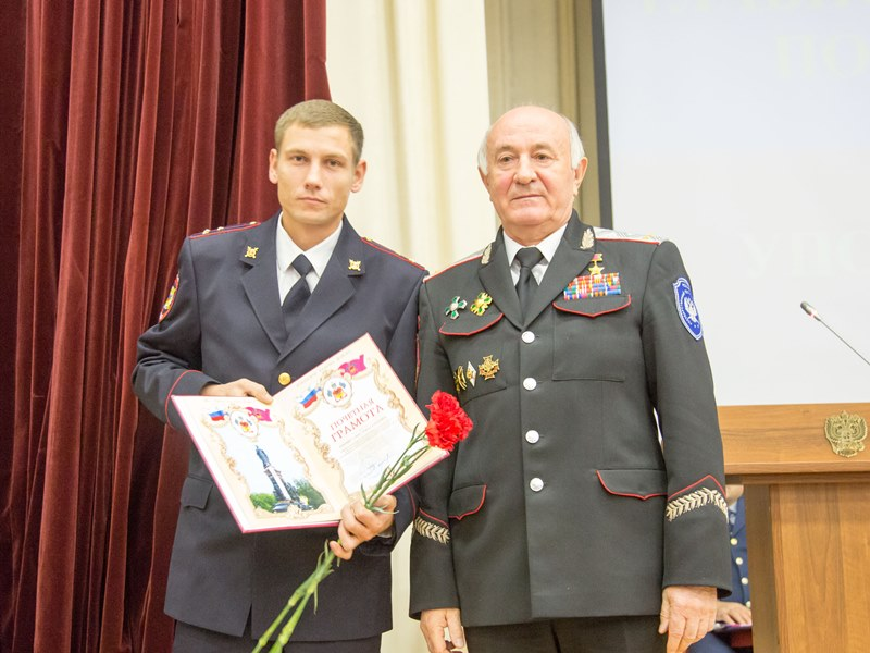 Участкового из Абинского района наградили в крае