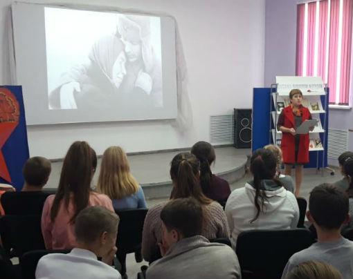 Ахтырские школьники побывали на тематической программе к Дню матери