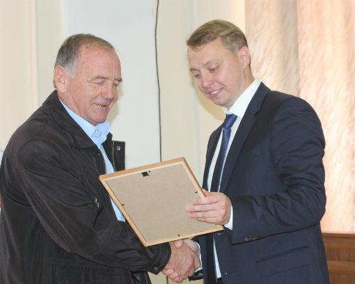 В Абинском районе чествовали представителей автотранспортной отрасли