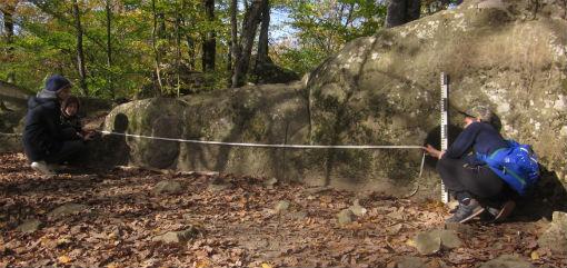 Юные археологи из Абинска нашли артефакты на восточном отроге Крейдяной горы