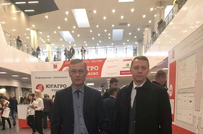 Исполняющий обязанности главы МО Абинский район Вячеслав Иванов принял участие в 25-й международной выставке «Югагро»