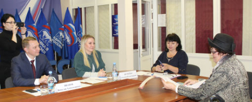 Депутат ЗСК провела прием граждан в Абинском районе