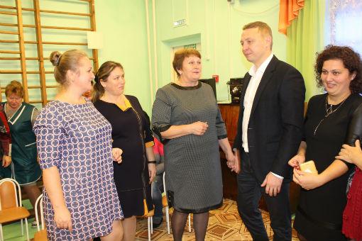Исполняющий обязанности главы Абинского района провел встречу с трудовым коллективом ООО «Агрофирма «Абинская»