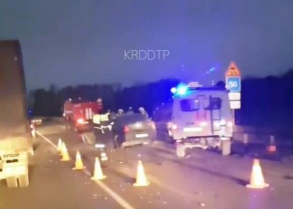 В Абинском районе произошли дорожно-транспортные происшествия со смертельным исходом