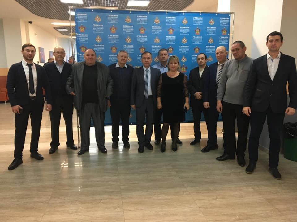 Абинская делегация приняла участие в краевом совещании по подведению итогов работы единой государственной системы предупреждения и ликвидации ЧС