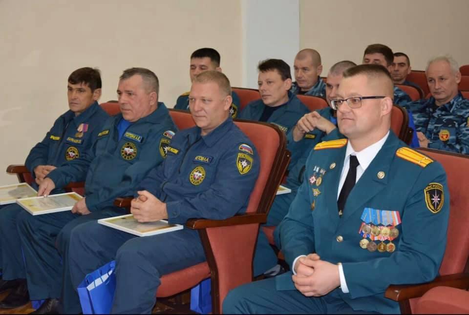 В Абинске чествовали спасателей