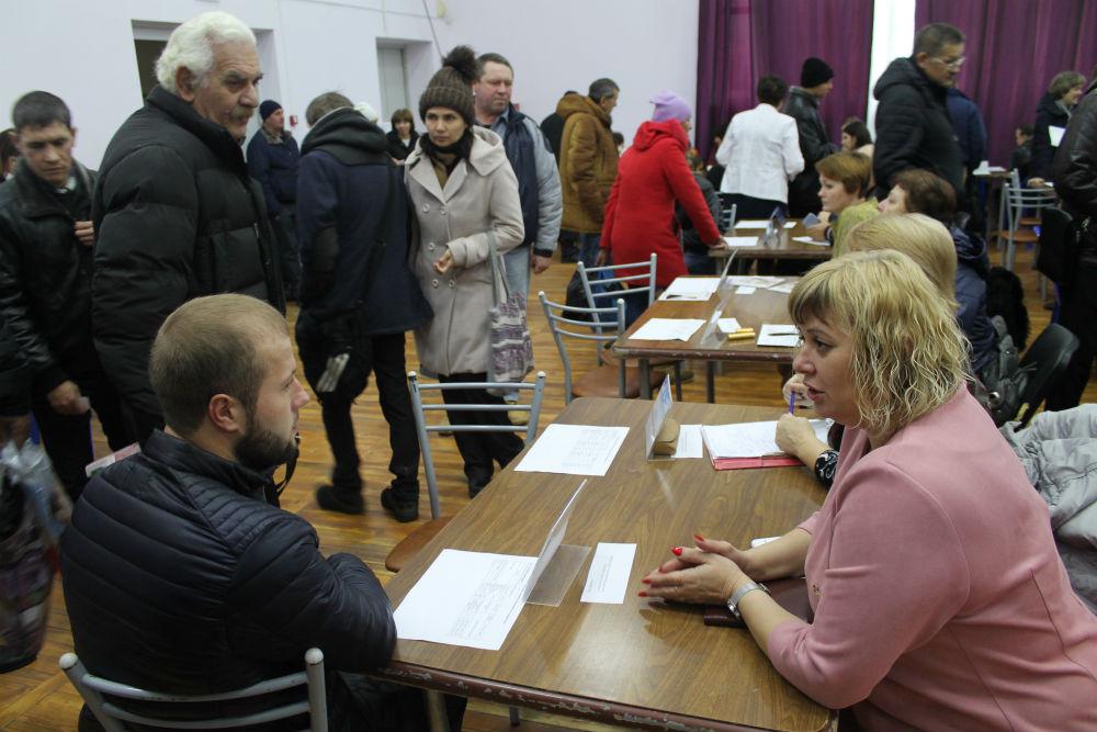 В Абинске прошла ярмарка вакансий