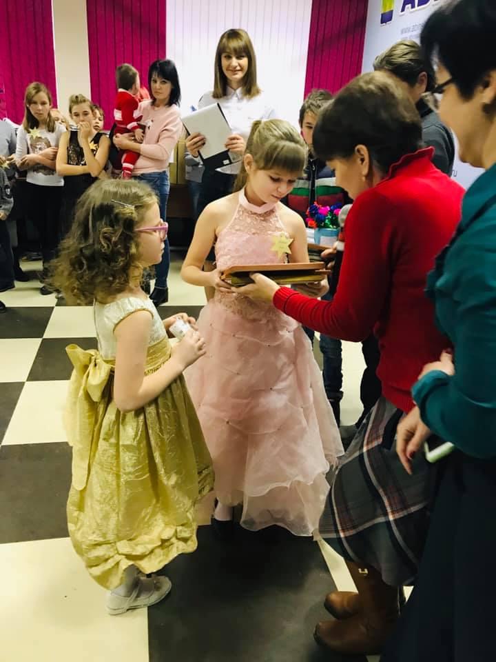В Абинске прошел новогодний утренник для детей из социально незащищенных семей