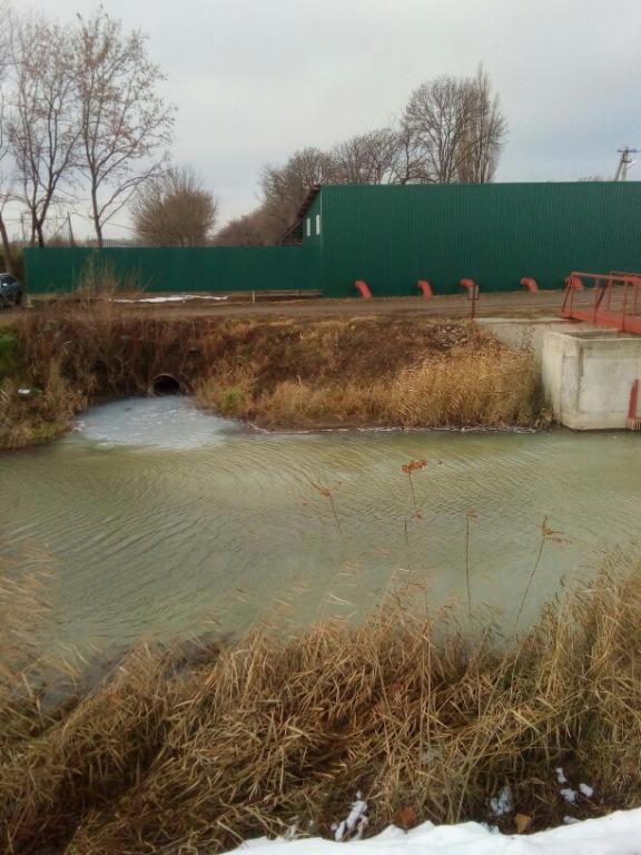 ОНФ защитит обводной канал Новокубанска от загрязняющих выбросов