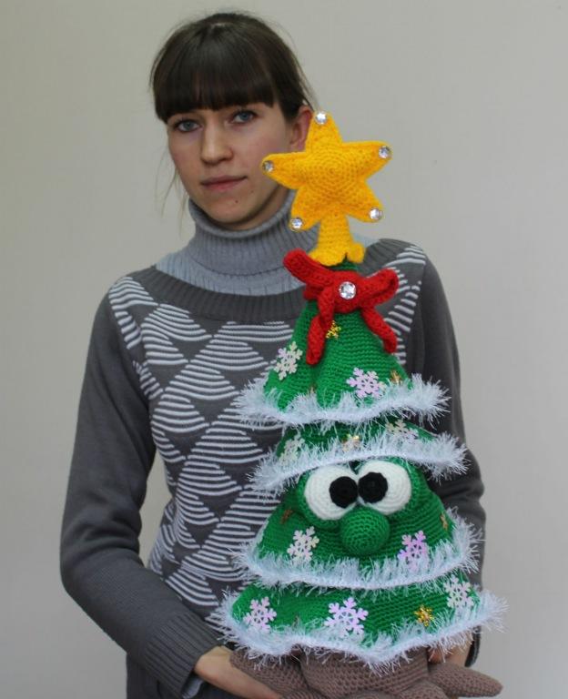 В конкурсе «Новогодняя мастерская» участвует Елена Шумакова из хутора Коробкин Абинского городского поселения
