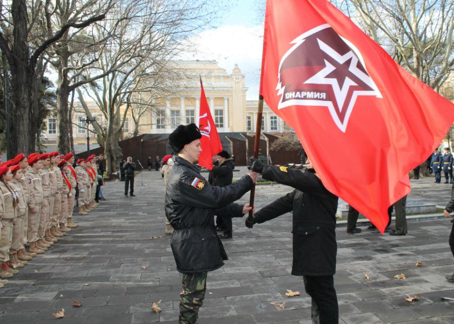Абинский отряд юнармейцев стал филиалом Новороссийского военно-патриотического клуба «Гардемарин»