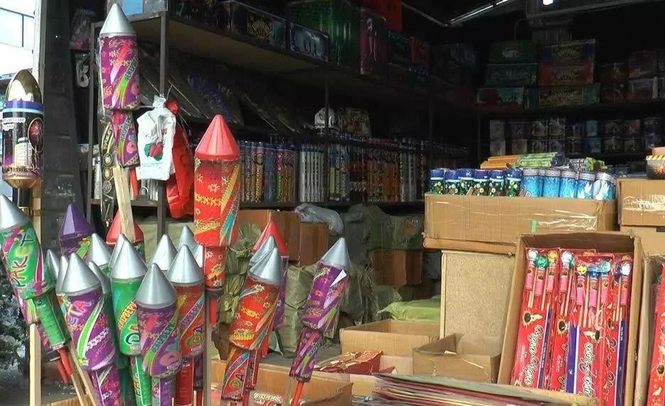 В Абинском районе изъяли пиротехнические изделия на сумму более 19 тыс. рублей