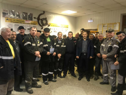 Абинские полицейские встретились с водителями автотранспортных предприятий