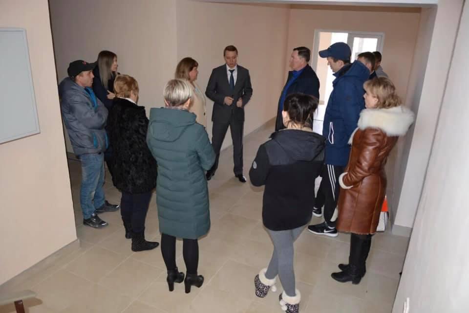 Глава Абинского района встретился с жителями МКД с. Светлогорское