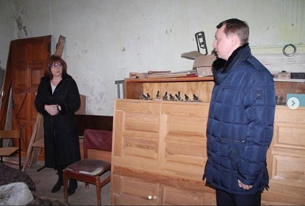 Глава Абинского района провел рабочую поездку в Холмское сельское поселение