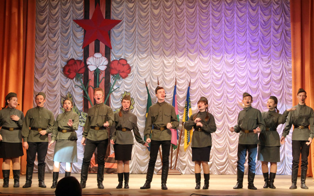 В Ахтырском городском поселении прошло торжественное открытие месячника оборонно-массовой и военно-патриотической работы