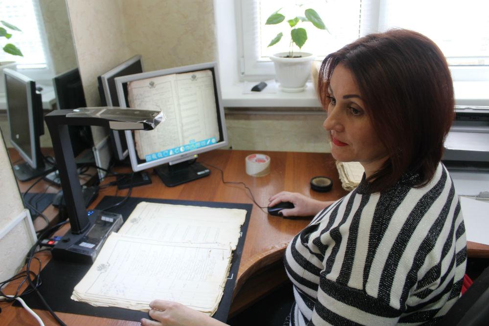 Новый формат. Специалисты архивного отдела администрации Абинского района приступили к оцифровке уникальных документов