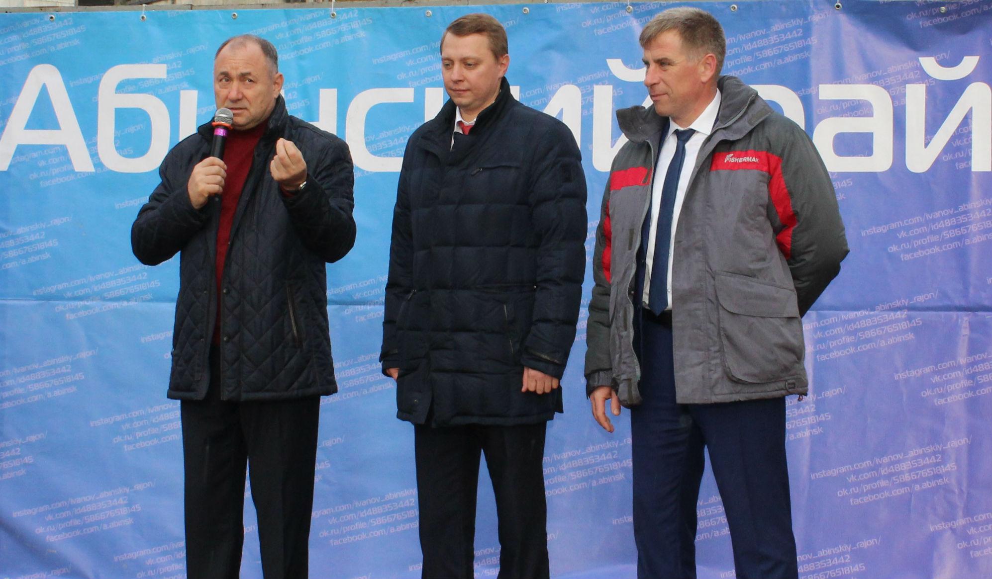 В Абинске после реконструкции торжественно открыли городской сквер