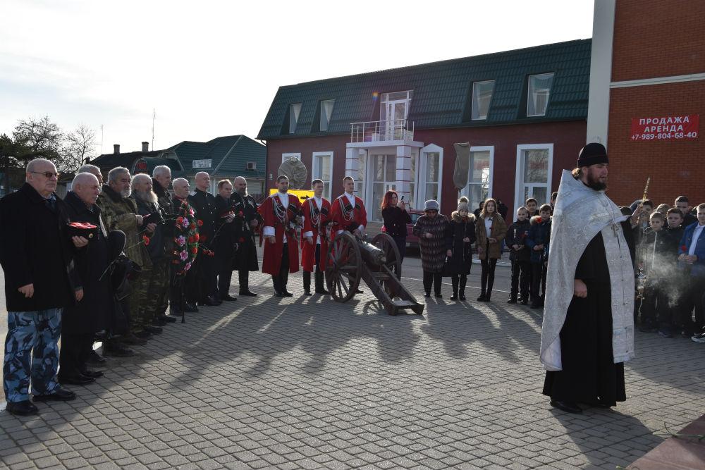 Абинчане почтили память жертв политических репрессий против казачества