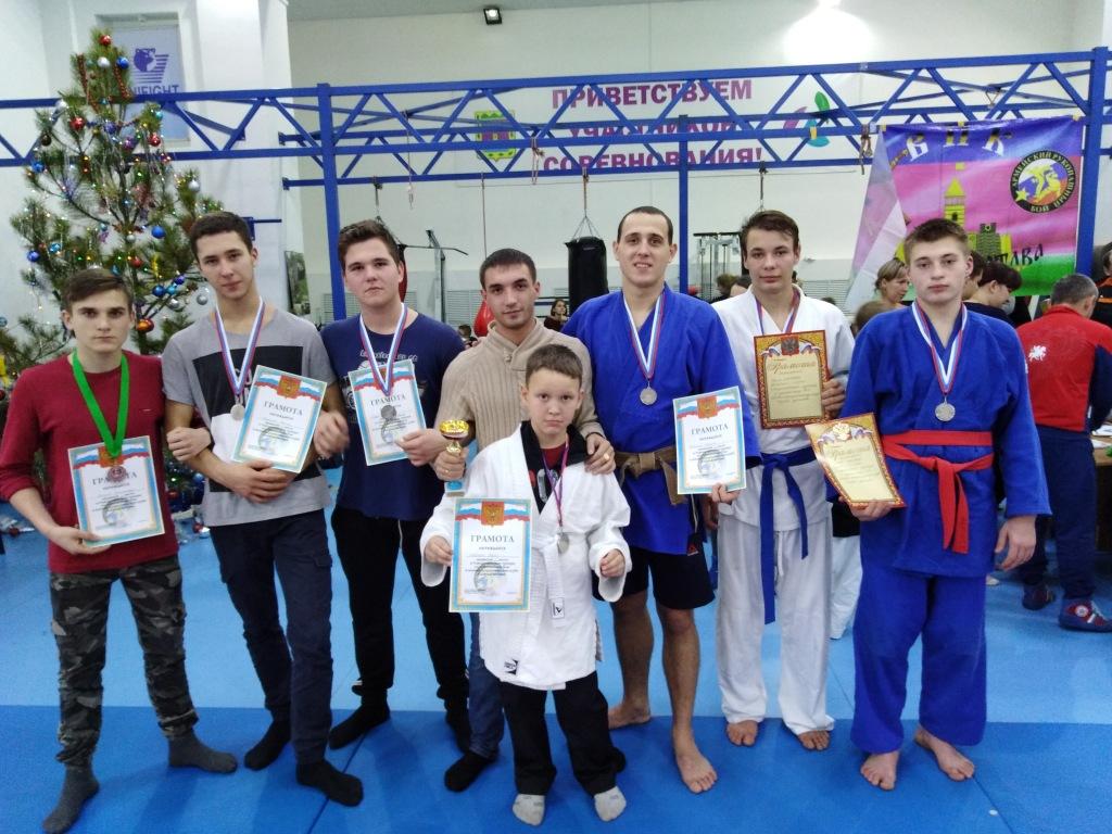 В Абинске прошёл открытый рождественский турнир по рукопашному бою