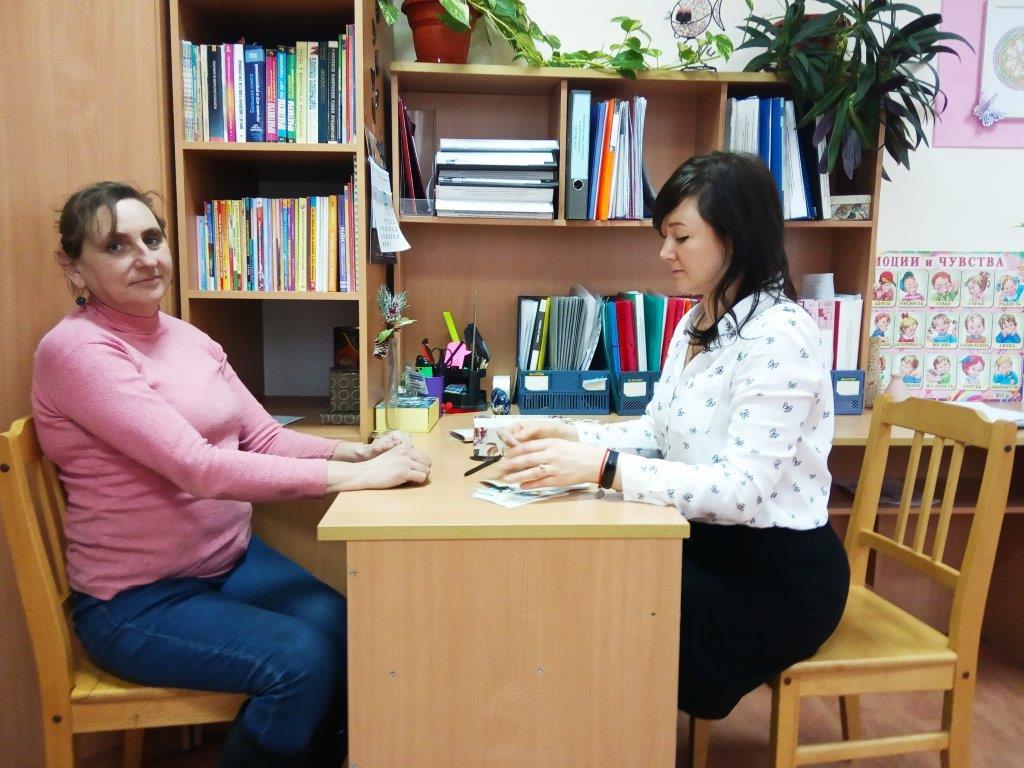 Педагоги-психологи Абинского социально-реабилитационного центра для несовершеннолетних провели очередное заседание детско-родительского клуба «Семейное счастье»