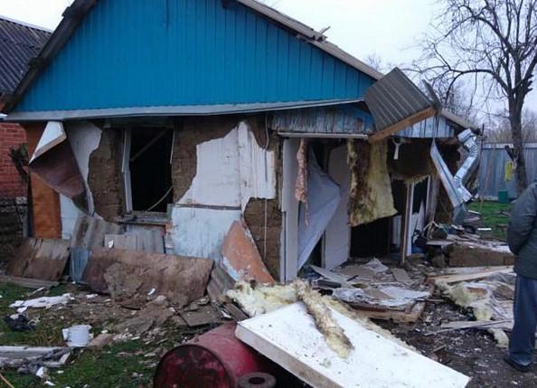 В станице Холмской в частном доме взорвался газ