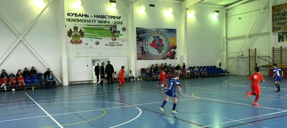 В Абинске прошло открытое первенство района по мини-футболу среди школьников