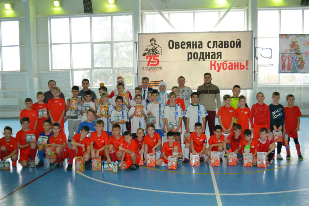 В Абинске состоялся турнир по мини-футболу на призы главы Абинского городского поселения