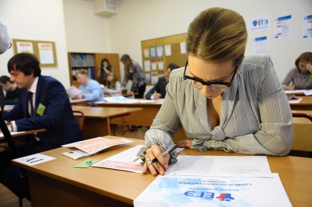 Родители девятиклассников ахтырских школ сдали экзамен по русскому языку